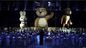 حفل ختام اولمبياد سوتشي للالعاب الشتوية