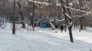 तिबलिसी का वेक पार्क