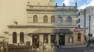 ایستگاه متروی خیابان گلاستر، موزه لندن