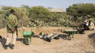 सोमालीलैंड कब्रों की खुदाई