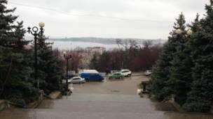 کریمه در جنوب اوکراین که بخشی از این کشور اما خودمختار است