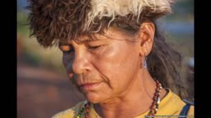 Damiana Cavanha, Guarani-Kaiowá tribe. © Fiona Watson/Survival