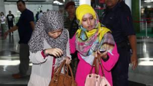 Khung cảnh tại sân bay ở Kuala Lumpur