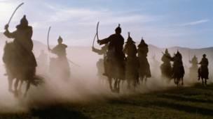 """好天气向成吉思汗的蒙古骑兵""""提供了帮助""""。"""
