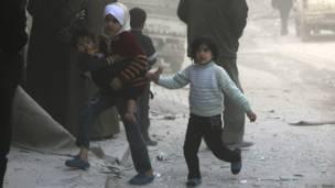 Ana-anak di Aleppo