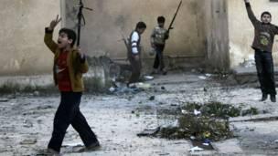 Anak-anak di Suriah