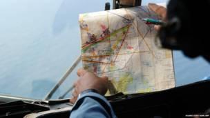 लापता मलेशियाई विमान की खोज