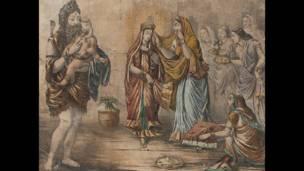 एपी बागची, 19वीं शताब्दी के उत्तरार्ध की पेंटिंग, दिल्ली आर्ट गैलरी