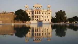 Castillo en India