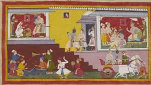 रामायणका प्रमुख पात्र रामलाई उनका पिता दशरथले अब रामले राजगद्दी सम्हाल्ने बेला आएको बताउदै
