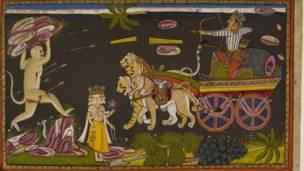 इन्द्रजितले राती भएको आक्रमणमा बाण हानेर हनुमानलाई घाइते बनाएका थिए