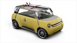 ME.WE car, Toyota. Designed by Massaud and Toyota (Image: Small Dots)