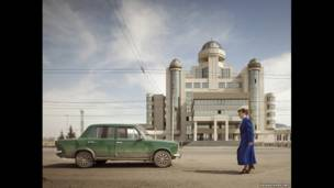 Sede de la Policía de Tránsito, Kazán, 2011.  FRANK HERFORT