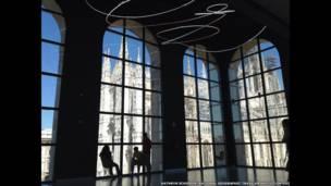 كاتدرائية قوطية في مدينة ميلان بإيطاليا