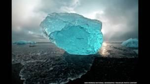 सैम मॉरिस, हिमशैल, नेशनल ज्योग्राफिक ट्रेवलर फ़ोटो कंटेस्ट