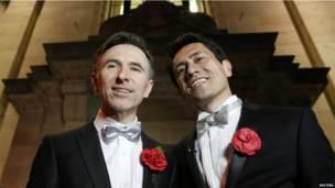 Peter McGraith y David Cabreza