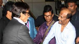 अमिताभ बच्चन, रजनीकांत