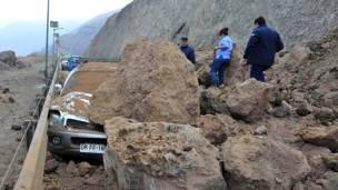 Derrumbe, Iquique