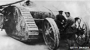 inventos 1 guerra mundial
