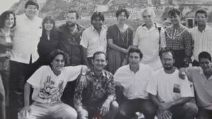 Taller Fundación García Márquez, foto Colección Particular
