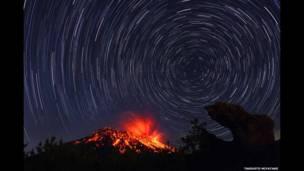 ताइशो लावा, सितारे और ज्वालामुखी विस्फोट. ताकाहितो मियाताके