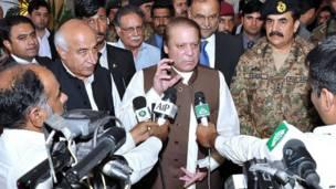 पाकिस्तान के प्रधानमंत्री, नवाज़ शरीफ़