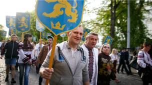 """""""парад вишиванок"""" у Львові"""