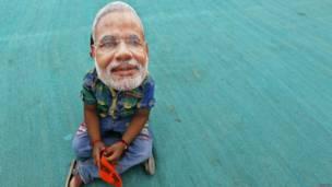 Митинг в поддержку Нарендры Моди