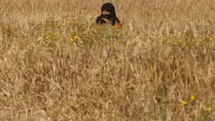 Палестинка в секторе Газа