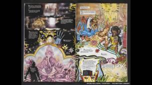 Mostra reúne contribuições do Reino Unido para o mundo dos gibis.