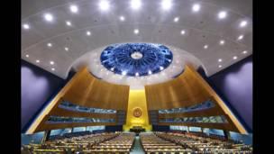Asamblea General de la ONU, Nueva York, 2008  (Luca Zanier)
