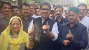 हिमाचल प्रदेश मुख्यमंत्री वीरभद्र सं