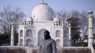 चीन, बीजिंग वर्ल्ड पार्क, ताजमहल