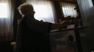 Донбасс голосует о статусе региона