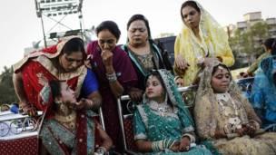 मुंबई में मुस्लिम समुदाय की सामूहिक शादी
