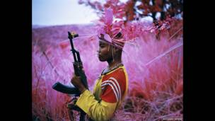 Safe From Harm, North Kivu, Eastern Congo, 2012. Richard Mosse/Courtesy of the artist and Jack Shainman Gallery