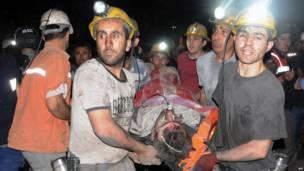 Спасатели шахтеров