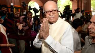 लाल कृष्ण आडवाणी, वरिष्ठ भाजपा नेता