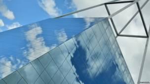 Edificio geométrico