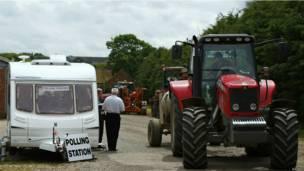 英国投票站面面观