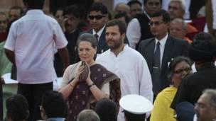 सोनिया गांधी, राहुल गांधी