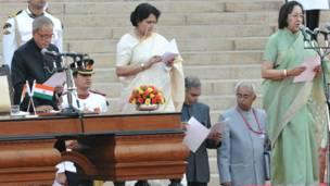 मोदी की कैबिनेट, महिला मंत्री