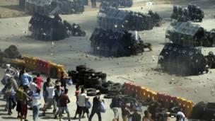 Latihan keamanan di Beijing