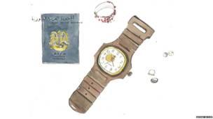 पासपोर्ट और घड़ी