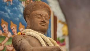 महाभारत, कंबोडिया, हिंदू , दुर्योधन, भीम और बलराम