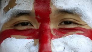 इंग्लैंड का झंडा, फ़ुटबॉल विश्व कप