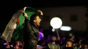 अल्ज़ीरिया, झंडा,