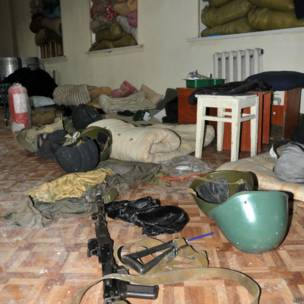 после боев в Луганске