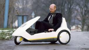 Vehículo C5 y su creador