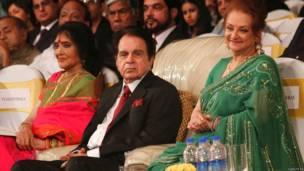 वैजयंती माला, दिलीप कुमार, सायरा बानो